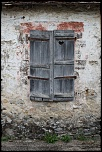 OLD SHUTTER WITH HEART