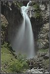 Voici des vues de cascades du Valgaudemar (Hautes-Alpes)