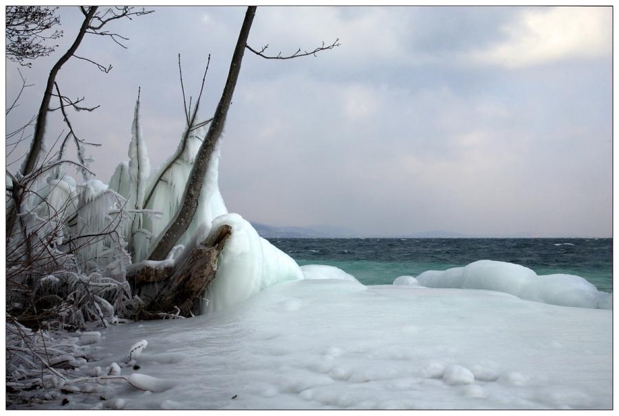 Lac de Neuchâtel  février 2012