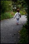 Vanina exploratrice ... au parc de sainte croix ....