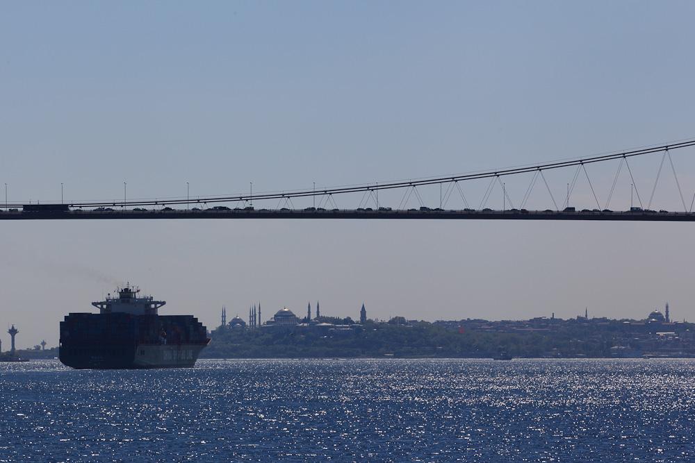 Un pont entre 2 continent