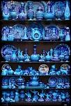 porcelaine bleue