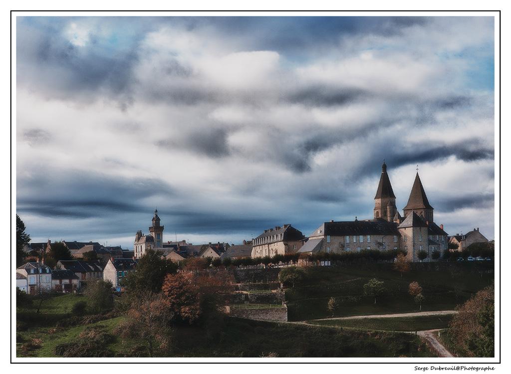 Eglise abbatiale Saint Barthélémy à Bénévent l'Abbaye (Creuse)