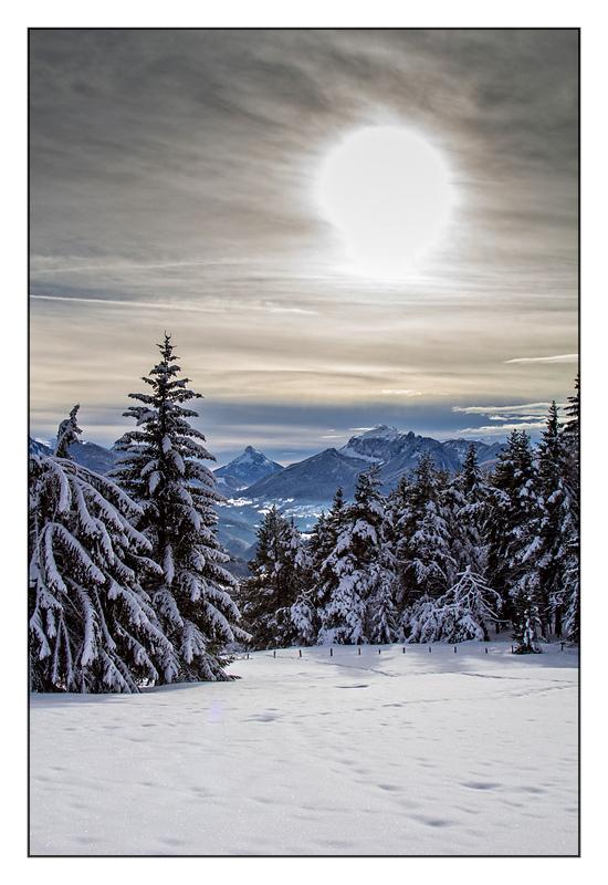 Montagne et neige