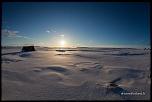 Lever de soleil sur Stöng