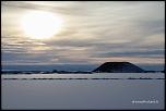 Coucher de soleil sur Mývatn