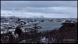 Point de vue d'Höfði sur Mývatn et la route n°848