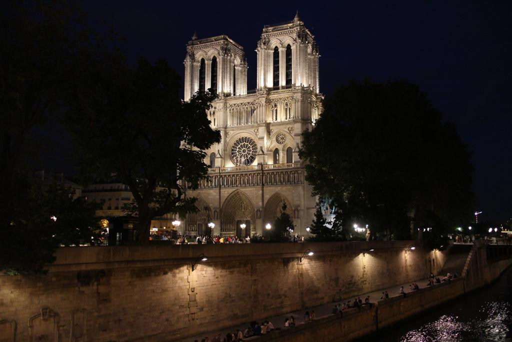 Paris la nuit.