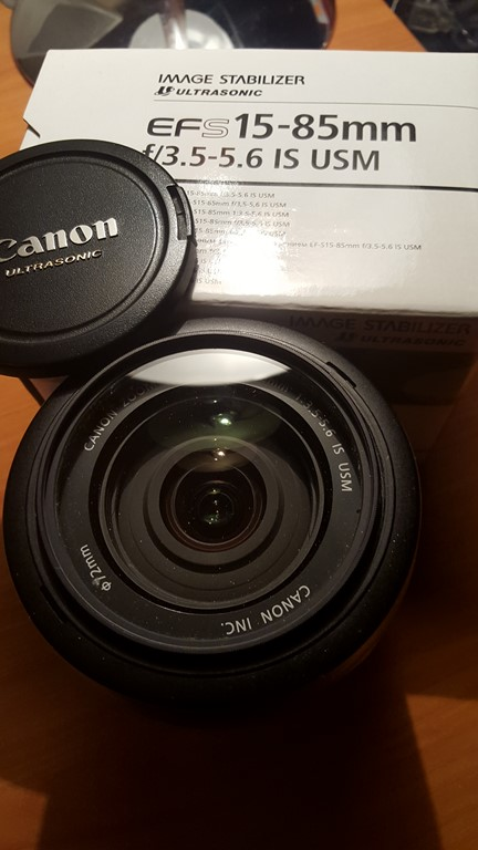 Objectif Canon 15 85 mms