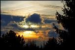 """S10 Le ciel """" Soleil couchant en Picardie"""""""