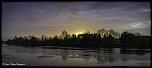 Lever du soleil sur la Dordogne