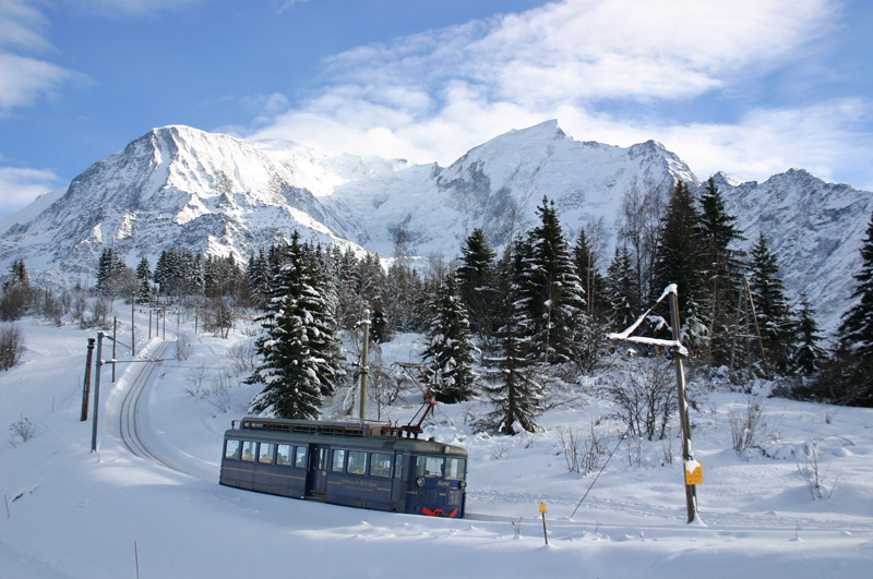 le tramway du mont blanc