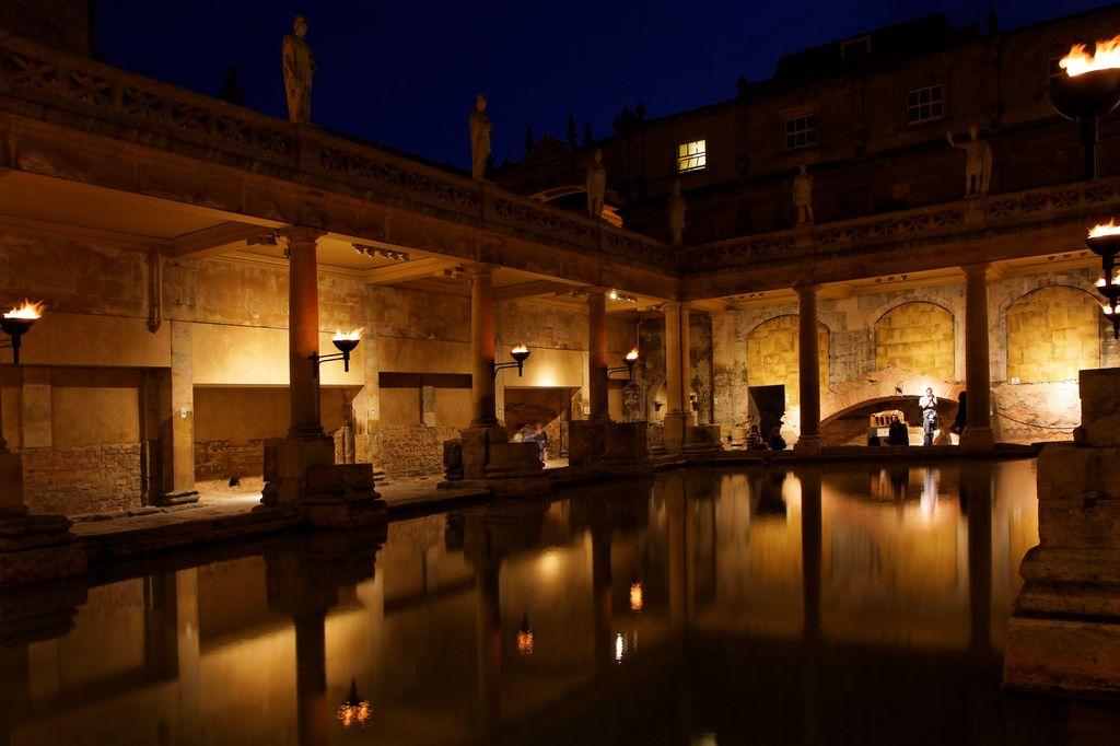 thermes romains de bath. Black Bedroom Furniture Sets. Home Design Ideas