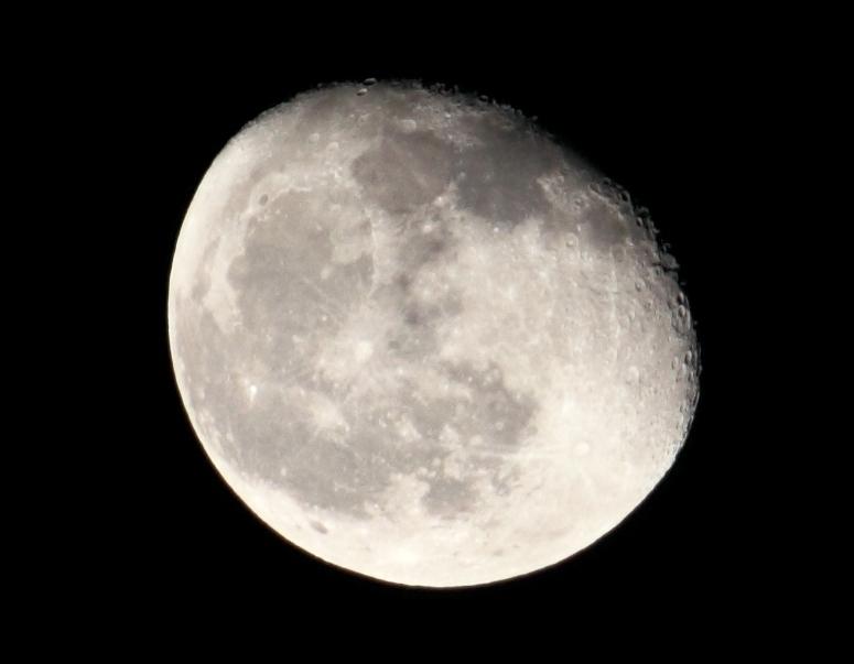La lune vue de ma fen tre for Vue de ma fenetre