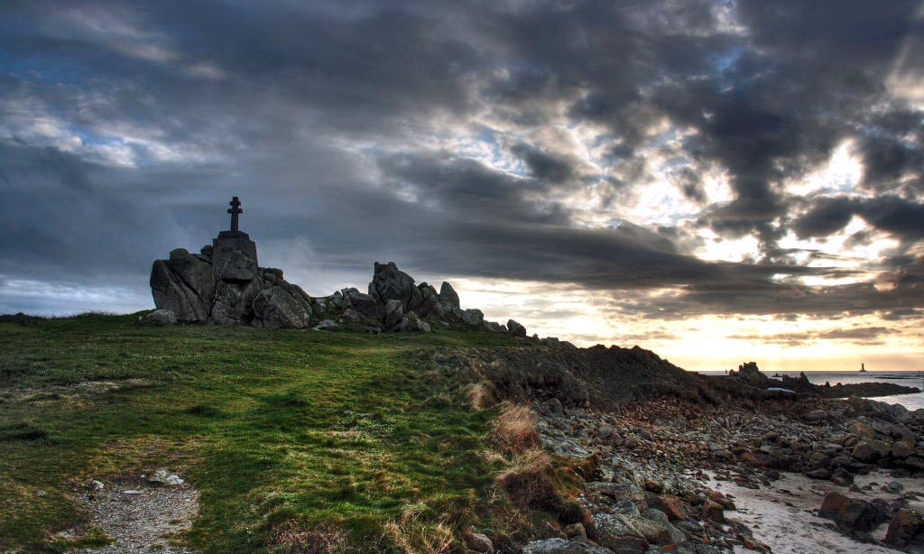 paysage et vue bretonne