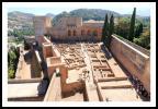 L'alcazaba de l'Alhambra.